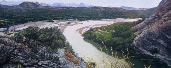 View From Santa Elena Canyon
